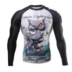 Excellent Quality New Design MMA Rash Guard